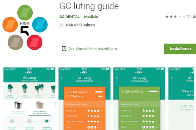 GC luting guide